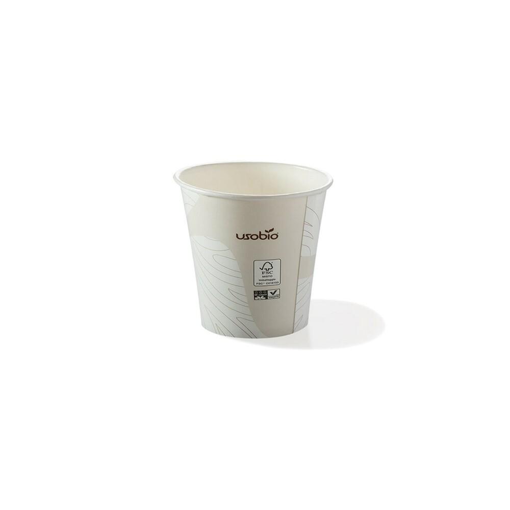 Vaso café biodegradable 120...