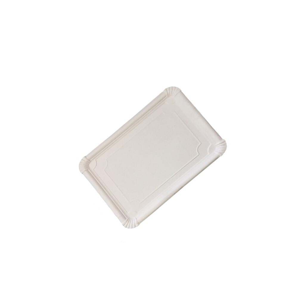 Bandeja cartón blanco...