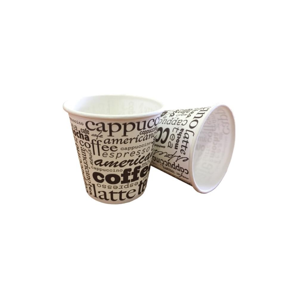 Vaso papel café 4oz/120ml...
