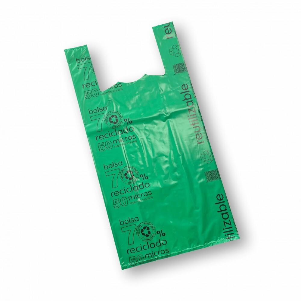 Bolsa 70% reciclada 42x55cm...