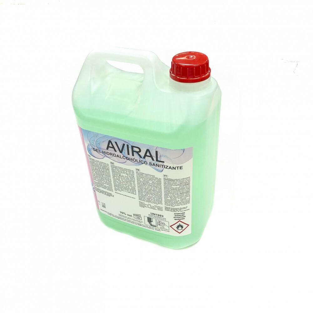 Aviral gel hidroalcohólico...