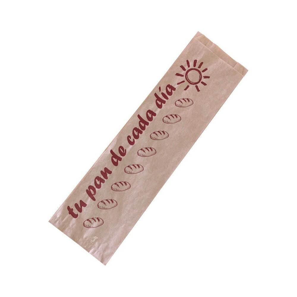 Bolsa papel kraft 3 barras...