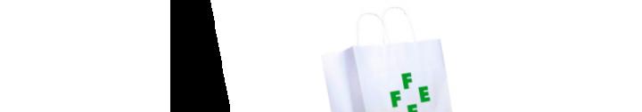Bolsa de papel personalizada para farmacia