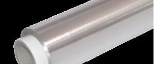 Rollos papel de Aluminio industrial. Caja con banda de corte