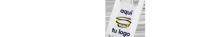 Bolsas tipo camiseta 70% tipo camiseta personalizadas con tu logo