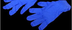 Guantes uniuso resistentes y elásticos
