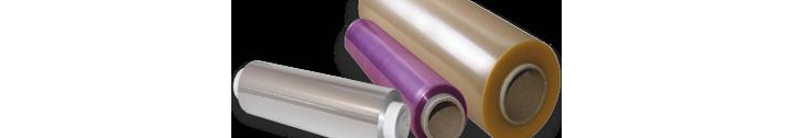 Plastico transparente film y papel de aluminio industrial