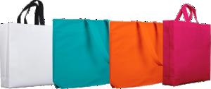 Comprar bolsas de plastico y reutilizables de todos los colores y tamaños